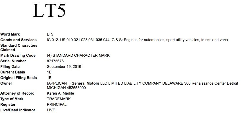 general-motors-lt5-trademark-application-uspto-september-2016